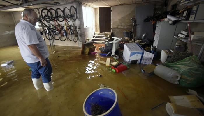 Ισπανία: Δραματική διάσωση μωρού και τριών παιδιών από πλημμύρες