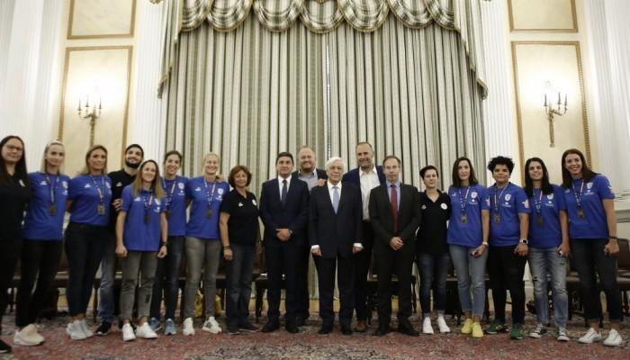 Παρόν ο Λευτέρης Αυγενάκης στην συνάντηση του Προέδρου της Δημοκρατίας με την Εθνική Ομάδα