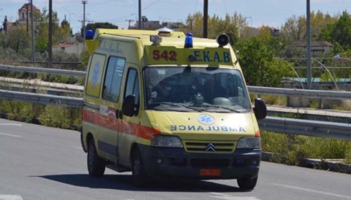 Ηράκλειο: Τροχαίο ατύχημα με δυο τραυματίες