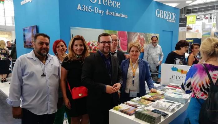 Πετυχημένη η συμμετοχή της Περιφέρειας στην έκθεση για τον εναλλακτικό τουρισμό