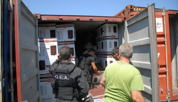Εντοπίστηκε μεγάλος αριθμός όπλων και πυρομαχικών σε φορτηγό στο Ρέθυμνο