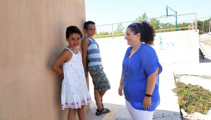 Με χαμόγελα το πρώτο κουδούνι για την Μαρία, την Κέλλυ και τον Νίκο στην Γαύδο (φωτο)