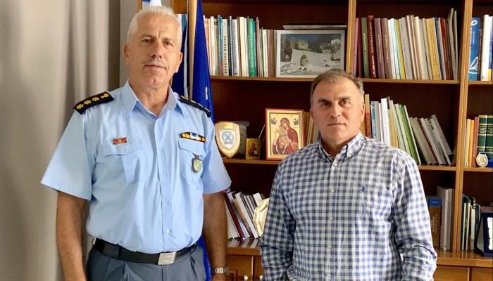 Συνάντηση Δημάρχου Ιεράπετρας με τον Αστυνομικό Διευθυντή