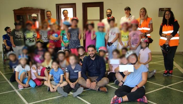 Μαθητές παρέδωσαν επιστολή στον Δήμαρχο Χανίων με αιτήματα για ασφαλή μετακίνηση στην πόλη