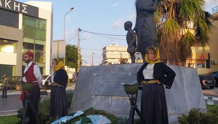 Τιμήθηκε η μνήμη από την γενοκτονία των Ελλήνων της Μικράς Ασίας