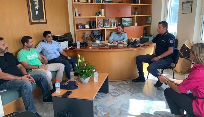 Με το νέο Διοικητή του ΑΤ Μαλεβιζίου συναντήθηκε ο Μενέλαος Μποκέας