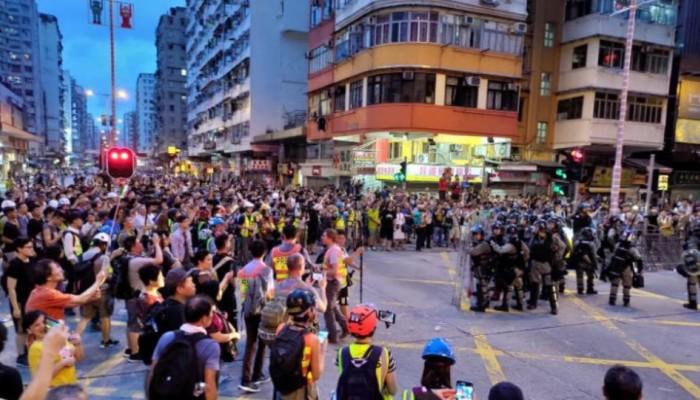Χονγκ Κονγκ: Επεισόδια ανάμεσα σε διαδηλωτές και αστυνομικούς