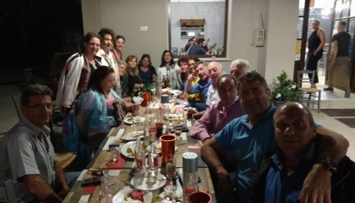 Αλικιανός: Αντάμωσαν και γιόρτασαν τα 40 χρόνια από την πρώτη τους συνάντηση ως μαθητές