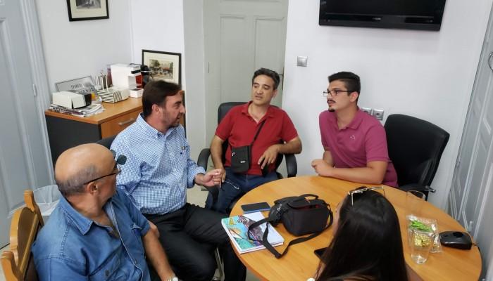 Συνάντηση Αντιπεριφερειάρχη με Ιταλό Δήμαρχο