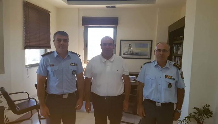 Αστυνόμευση και μεταφορά έδρας ΤΑΕ στη συνάντηση Ν. Σπυριδάκη με Μ. Κοκοσάλη