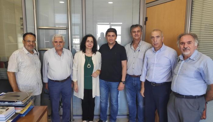 Συνάντηση με τον Υφυπουργό Αθλητισμού είχε αντιπροσωπεία της Ηράκλειας Πρωτοβουλίας