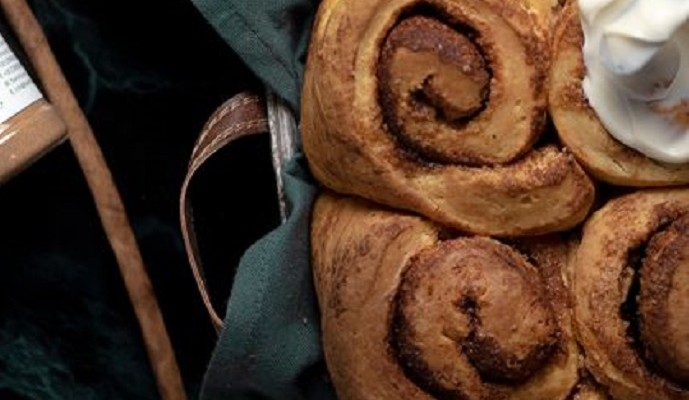 Cinnamon rolls, κοινώς ρολάκια κανέλας