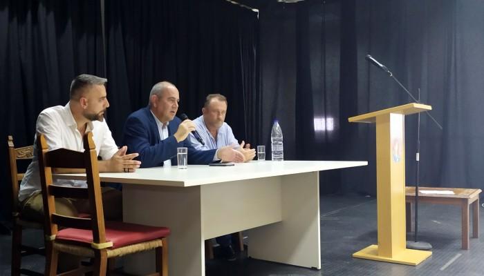 Δρομολογούνται οι λύσεις για τα προβλήματα των σχολικών μονάδων ΓΕΛ και ΕΠΑΛ στο Καστέλι