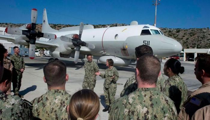 Διοικήτρια 6ου στόλου ΗΠΑ από Χανιά: «Σούδα, η αιχμή του δόρατός μας στην Ανατ. Μεσόγειο
