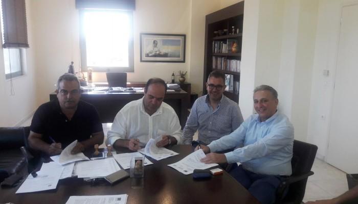 Υπογραφή σύμβασης για κατασκευή εργοστασίου κομποστοποίησης στον Δ. Αρχανών - Αστερουσίων