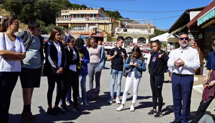 Ο δήμος Οροπεδίου φιλοξένησε Ευρωπαίους μαθητές