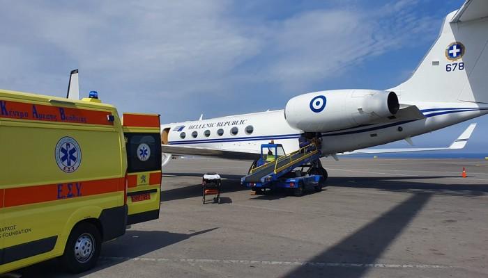 Αερογέφυρα ζωής με το Πρωθυπουργικό αεροσκάφος