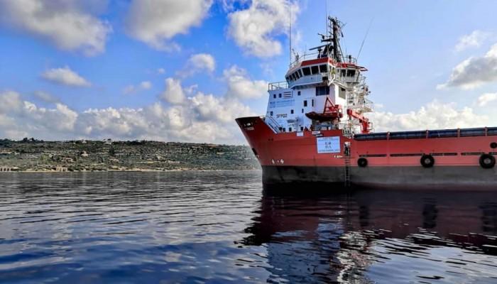 Ο «Τυφώνας» του Ιδρύματος Λαζαρίδη καθαρίζει την θάλασσα της Κρήτης