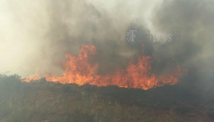 Συνελήφθη άνδρας ως υπαίτιος για τη φωτιά στην Ιεράπετρα