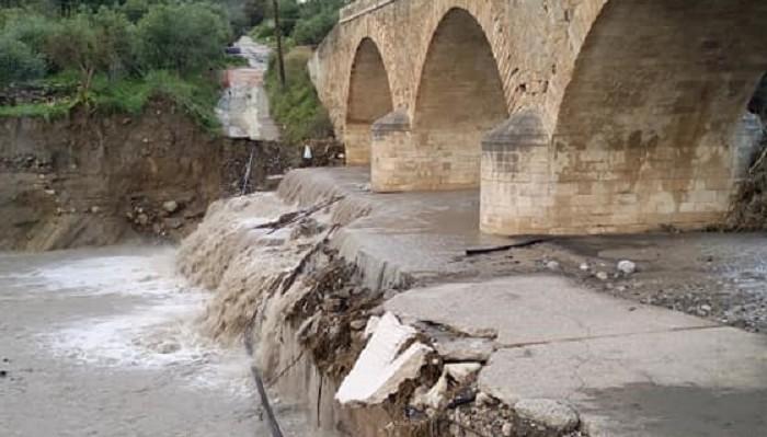 Κατατίθενται οι φάκελοι για το έργο αποκατάστασης της γέφυρας Μουρνιών