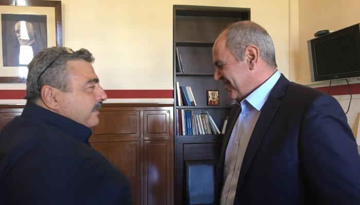 Επίσκεψη Βασίλη Διγαλάκη στον Αντιπεριφερειάρχη Χανίων - Τι συζήτησαν (φωτο+βιντεο)