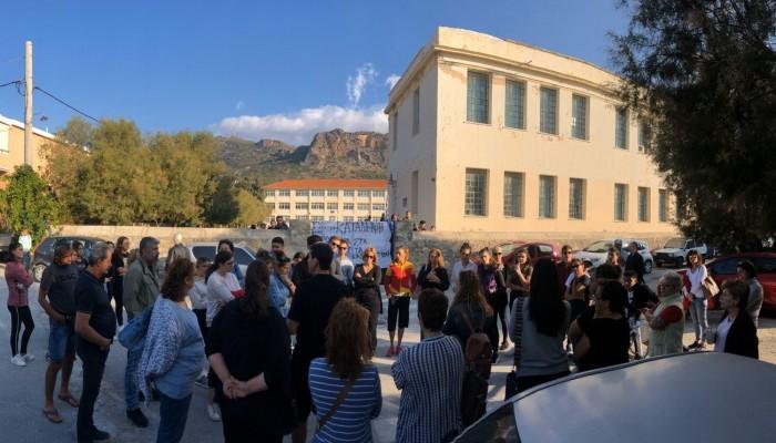 Συνεχίζεται η κατάληψη σε Γυμνάσιο – Λύκειο Παλαιόχωρας με την συμμετοχή και γονιών