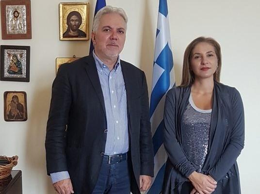 Στην Αποκεντρωμένη ο Επίτιμος Πρόξενος Λουξεμβούργου Γεώργιος Αεράκης