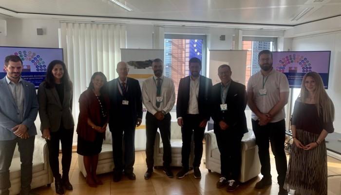 Με το Διευθυντή ε.τ. της Ε.E, κ. Κρεμλή συναντήθηκε στις Βρυξέλλες ο Μενέλαος Μποκέας