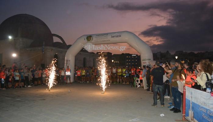 Εντυπωσιακή έναρξη του Νυχτερινού Δρόμου στα Χανιά (φωτο - βίντεο)
