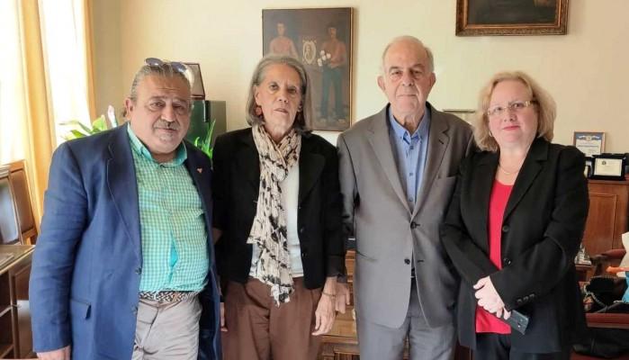 Συνάντηση Δημάρχου Ηρακλείου με την Πρέσβειρα της Κούβας
