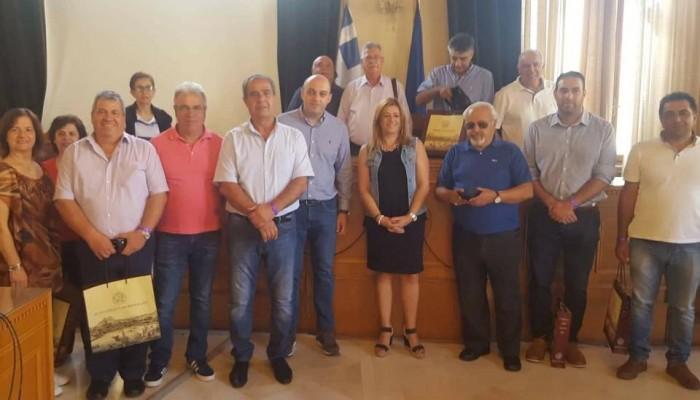 Συνάντηση Δημάρχου Ηρακλείου με Κυπρίους Πρόεδρους Κοινοτήτων