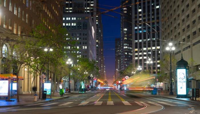 «Χειρόφρενο» για τα ΙΧ σε μεγάλο δρόμο του Σαν Φρανσίσκο