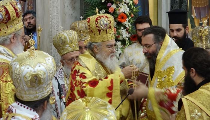 Χειροτονήθηκε ο νέος επίσκοπος Κνωσού (βίντεο - φωτο)