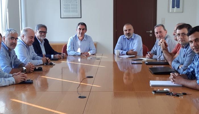 Συνάντηση με τον πρύτανη του Ελληνικού Μεσογειακού Πανεπιστημίου είχε ο Δήμ. Αγ. Νικολάου