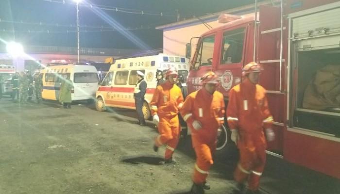 Έκρηξη σε ορυχείο στην Κίνα με δεκαπέντε νεκρούς