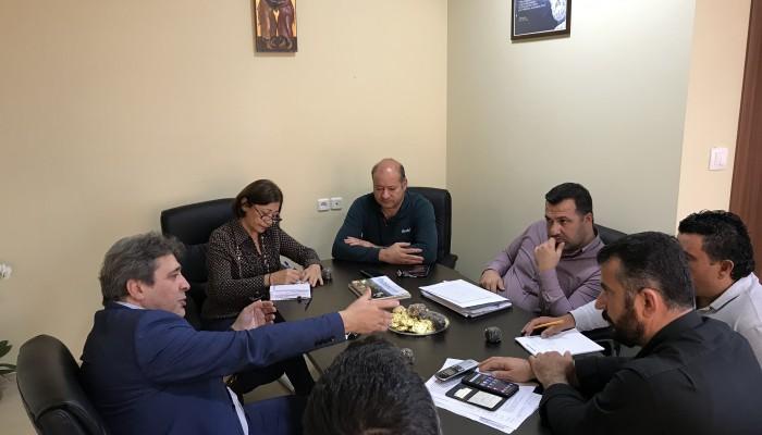 Συνάντηση Nίκου Ηγουμενίδη με τον νέο Δήμαρχο Γόρτυνας