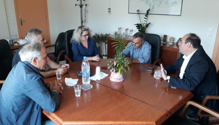 Συνάντηση Λένας Μπορμπουδάκη - Μανώλη Κοκοσάλη