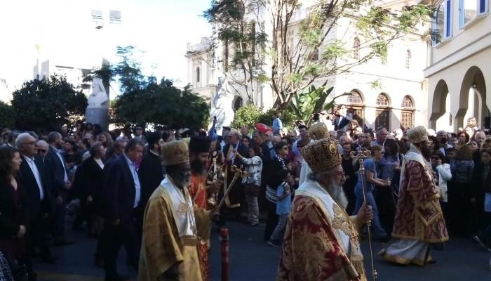 Hράκλειο: Χιλιάδες πιστοί τίμησαν τον