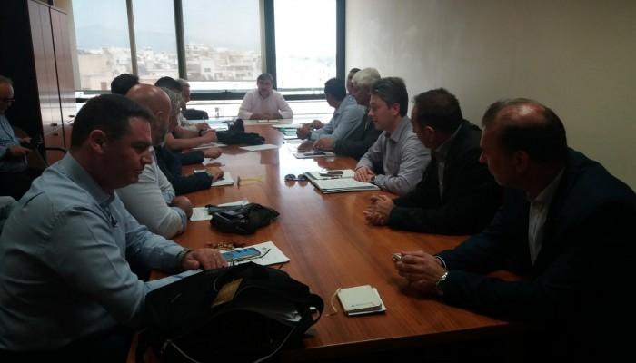 Κρητική εκπροσώπηση στην συνεδρίαση του Δ.Σ. του ΦΟΔΣΑ