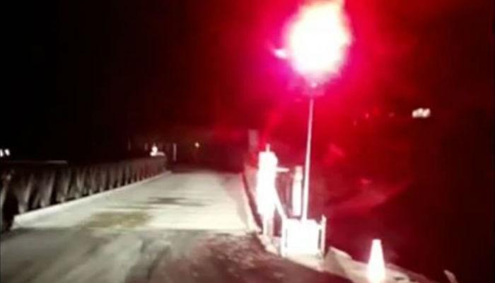 Σε κυκλοφορία με φανάρια η γέφυρα Μπέλευ στον Κερίτη (φωτο – βίντεο)