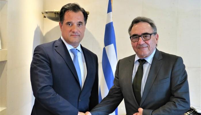 Σε εποικοδομητικό κλίμα η συνάντηση του Μ. Μαρακάκη με τον υπουργό Άδωνι Γεωργιάδη