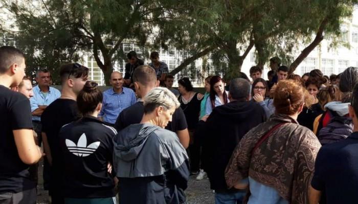 Συνεχίζεται η κατάληψη στο Γυμνάσιο της Παλαιόχωρας