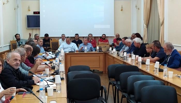 Συζήτηση για το έργο του υδροηλεκτρικού σταθμού στο Αμάρι (φωτο)