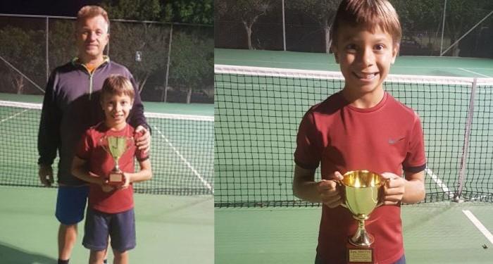 Διάκριση για 9χρονο Κρητικόπουλο σε παγκρήτιο τουρνουά τένις
