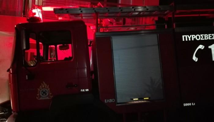 Φωτιά σε ορεινή περιοχή της Καντάνου - Σε μερικό έλεγχο αλλά δεν υπάρχει κίνδυνος