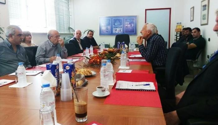 Συνάντηση των Προέδρων των Ενώσεων της Κρήτης