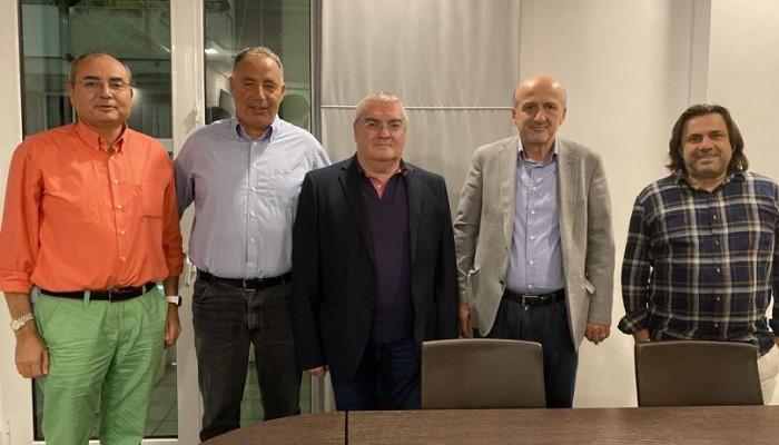 Συνάντηση του Δ/ντή ΜΑΙΧ με τον Πρύτανη του Παν/μίου Δυτ. Αττικής & καθηγητές του Π.Κ.