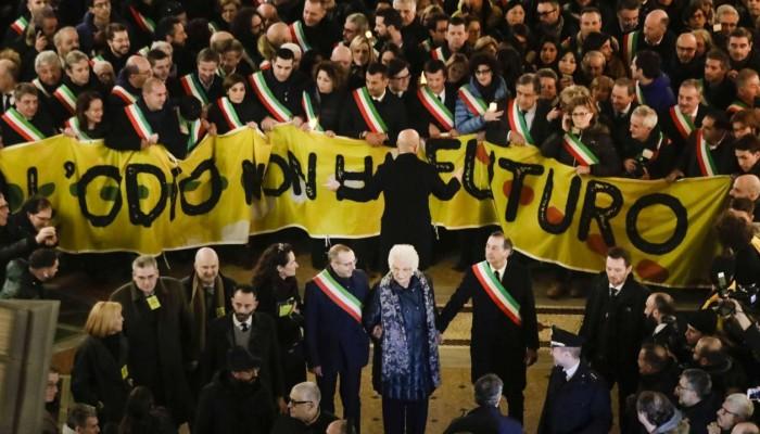 Πορεία 600 δημάρχων στο Μιλάνο κατά του μίσους