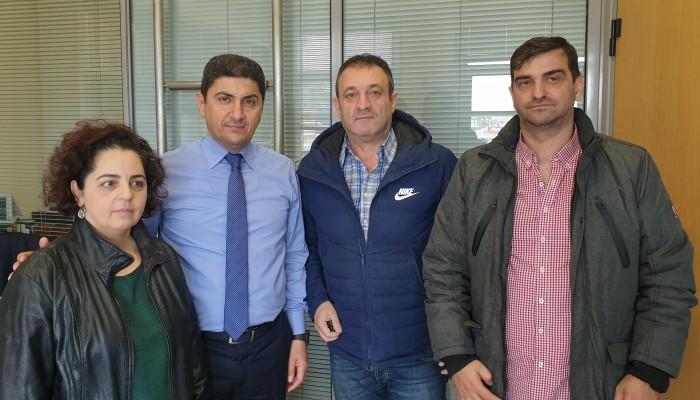 Συνάντηση ΕΚΗ - Λευτέρη Αυγενάκη