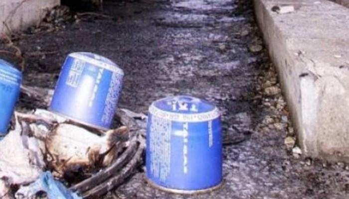 Αναστάτωση στο Ηράκλειο και μικρή φωτιά μετά από έκρηξη σε γκαζάκι